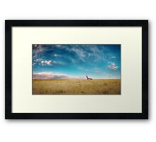 Breaking Bad- RV scenery  Framed Print