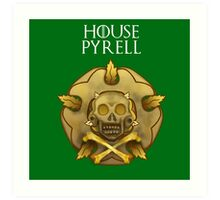 """House Pyrell"" - Disney Meets Game of Thrones Art Print"