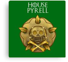 """House Pyrell"" - Disney Meets Game of Thrones Canvas Print"
