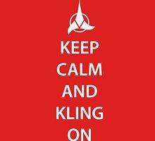 Keep Calm and Klingon Unisex T-Shirt