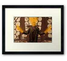 Great Men Are Forged In Fire Framed Print