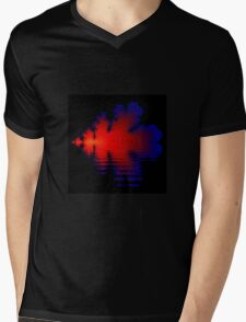 Fire and Water Mens V-Neck T-Shirt