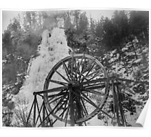 colorado frozen waterfall, waterwheel film Poster