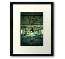 Welcome to the Asylum Framed Print