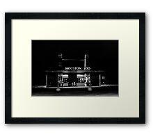 houston zoo Framed Print