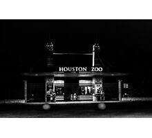 houston zoo Photographic Print