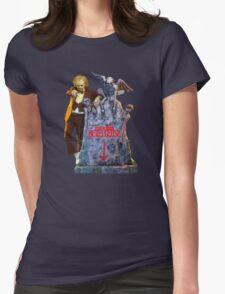 Here lies.... Betelgeuse Womens Fitted T-Shirt
