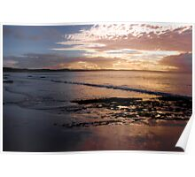 Sunrise at Bridgewater Bay Poster