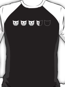 Meow Meow Beenz: A Happy Three is a Future Four (Image Only) T-Shirt