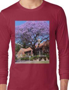 Jacaranda tree, Australia Long Sleeve T-Shirt