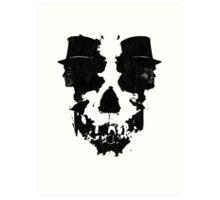 Skull of Jekyll/Hyde Art Print