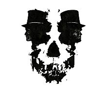 Skull of Jekyll/Hyde Photographic Print