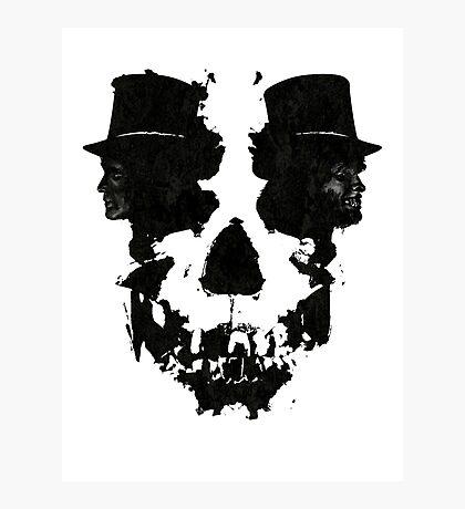 Skull of Jekyll/Hyde Photographic Print