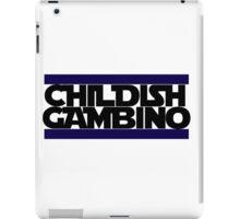 Childish Gambino Logo iPad Case/Skin