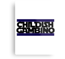Childish Gambino Logo Metal Print