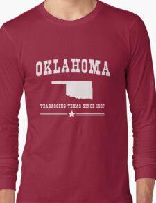 Oklahoma. Teabagging Texas Long Sleeve T-Shirt