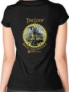 The Loop, Mont 2014 Women's Fitted Scoop T-Shirt