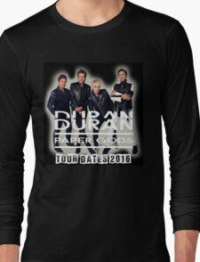 Duran Duran Band Paper Gods Tour Long Sleeve T-Shirt