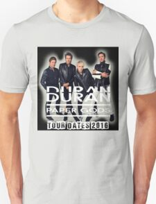 Duran Duran Band Paper Gods Tour T-Shirt