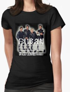 Duran Duran Band Paper Gods Tour Womens Fitted T-Shirt