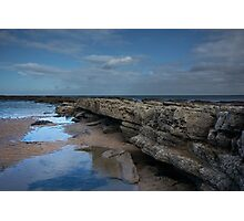Cocklawburn Beach Photographic Print