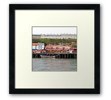 Houses and building Framed Print