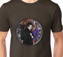 Tim Burton Stained Glass Unisex T-Shirt