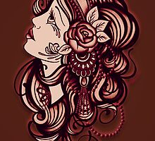 Gypsy Rosa by Leighderhosen Art