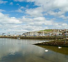 Whitehaven harbour slipway by photoeverywhere