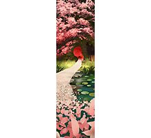 Cherry Blossom Geisha Photographic Print