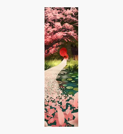 Cherry Blossom Geisha Photographic Print