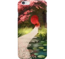 Cherry Blossom Geisha iPhone Case/Skin