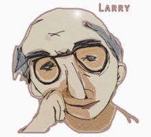 Larry David Shirt by mihmnop