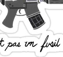 Treachery of Assault Weapons Sticker