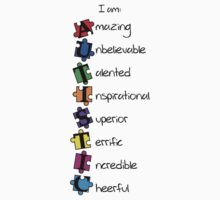 I am: Amazing Unbelievable Talented Inspirational Superior Terrific Incredible Cheerful (I am: AUTISTIC)  by Vanessa Lauder