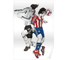 World Cup Soccer - Argentina x Paraguay Poster