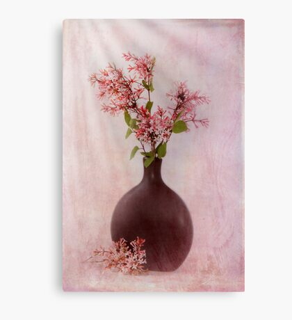 Study In Pink Canvas Print