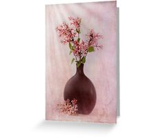 Study In Pink Greeting Card