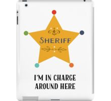 The Sheriff iPad Case/Skin