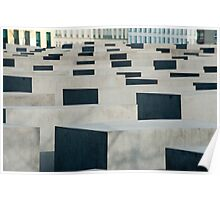 Memorial to the murdered Jews of Europe Poster