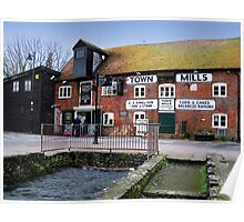 The Old Town Mills Andover Poster