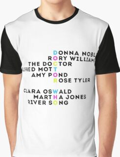 Doctor Who Companions  Graphic T-Shirt