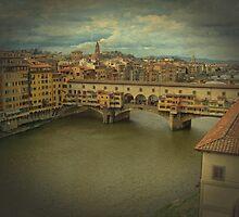 Bridge Ponte Vecchio in Florence, Italy by elgreko