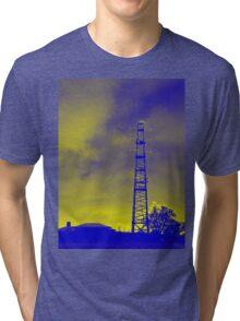Psychedelic pylon Tri-blend T-Shirt