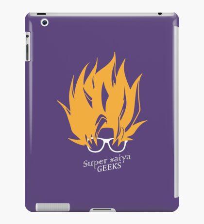 Super Saiya Geeks iPad Case/Skin