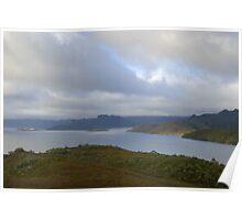 lake pedder tasmania Poster