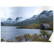 dove lake view Poster
