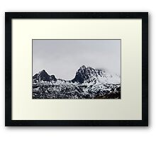 cradle mountain ridge Framed Print