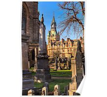 Dunfermline Abbey and the City Chambers Poster