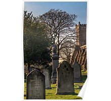 Dunfermline Abbey and Graveyard Poster